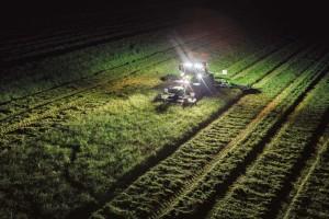 gps agricola autoguiado noche
